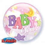 "Baby Girl - 22"" (Bubble)"