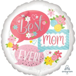 Best Mom Ever [43 cm]