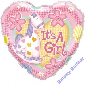 It is a girl
