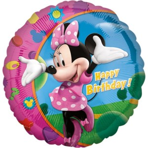 Myszka Minnie Happy Birthday 17""