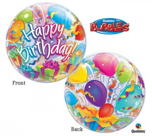 "Happy Birthday - 22"" (Bubble)"