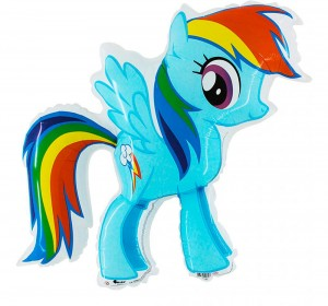 Rainbow Dash - Kucyki Pony (75x75)