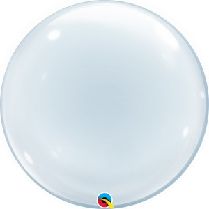 "Transparent - 24"" (Deco Bubble)"